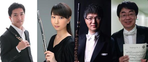 NHK交響楽団、初の試み  現役フルート奏者の4人が登場