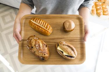 念願の地元にオープンシンプルで力強いパン