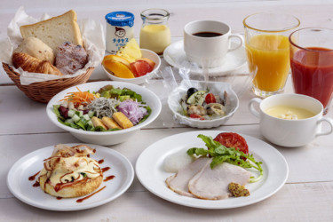 広島を味わえる朝食にリニューアル