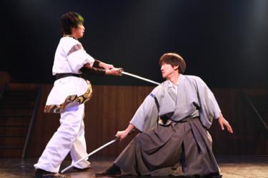 広島で活動するパフォーマーたちによる 殺陣をテーマにした合同公演